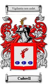 The House Of Names Website Has An Extensive History On The Cadwell Family  Crest And Coat Of Arms. A Low Resolution Of Their Offering Is Shown To The  Left.